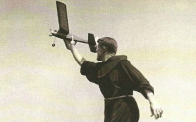 Franciscan Joy: Planes Keep His Eyes Heavenward