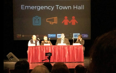 Muslims Voice Fears at Town Hall