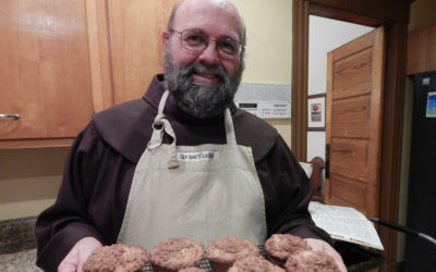 Baking With Br. Chris: His Hobby Fulfilled a Knead