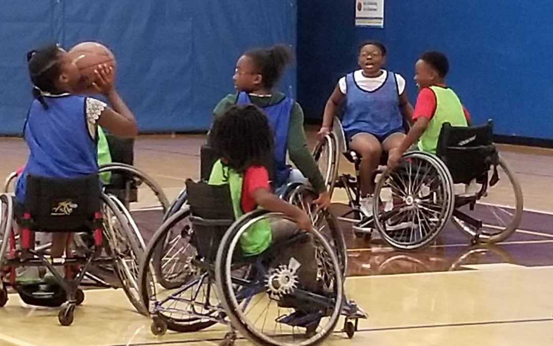 Wheelchair Basketball at Friars Club