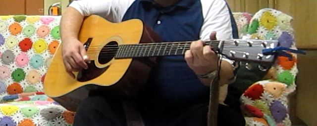 Franciscan Joy: Strumming feeds his spirit