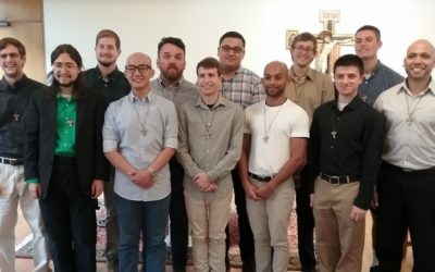 Postulants bring diverse backgrounds