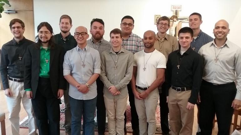Postulants bring diverse backgrounds