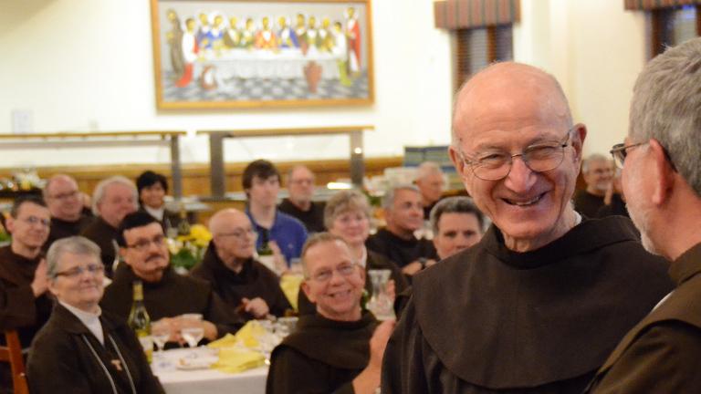 Fr. Joe Ricchini at Jubilee Celebration 2016