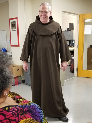 Br. Tim Sucher in new habit