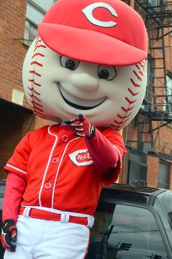 Reds Mascot