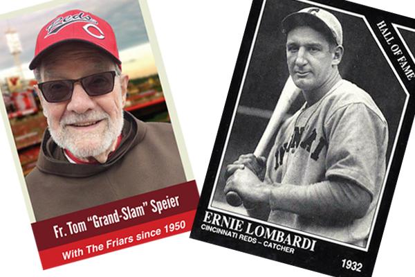 Tom and Lombardi baseball cards