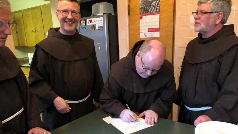 Four friars