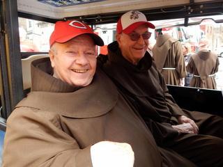 Friars in cart