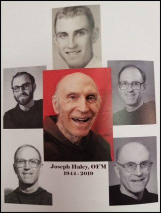 Br. Joe Haley throughout the years