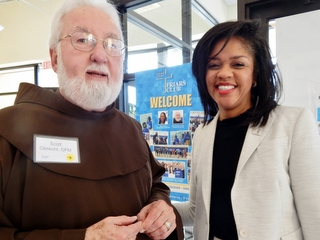 Br. Scott Obrecht and Nicole Dowdell