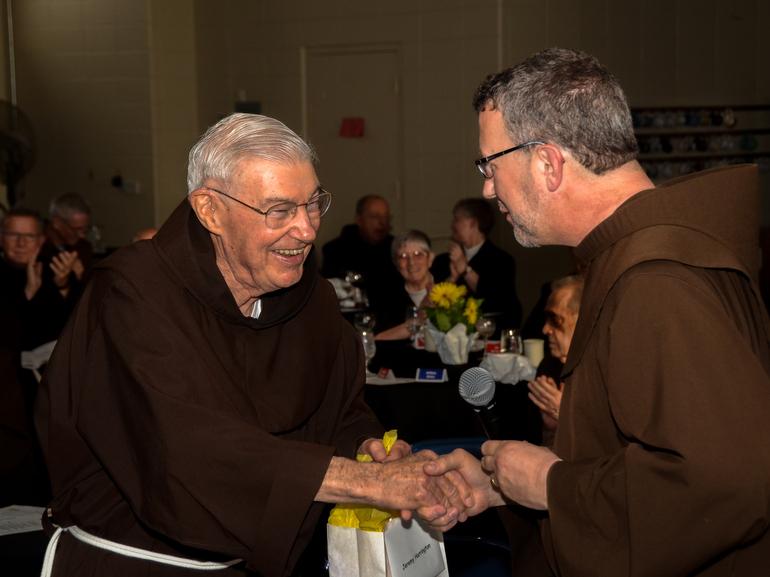 Friars Jeremy Harrington and Mark Soehner