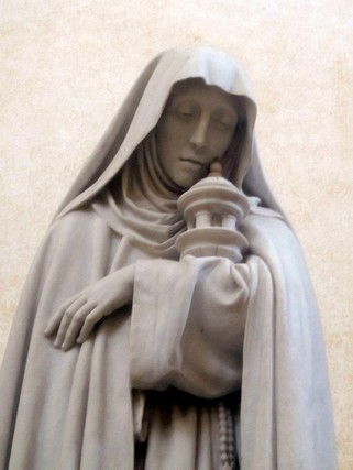 Statue of St. Clare