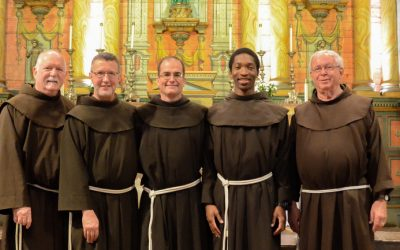 Ten men take next step in Franciscan life
