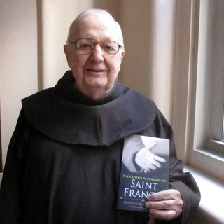 friar with book