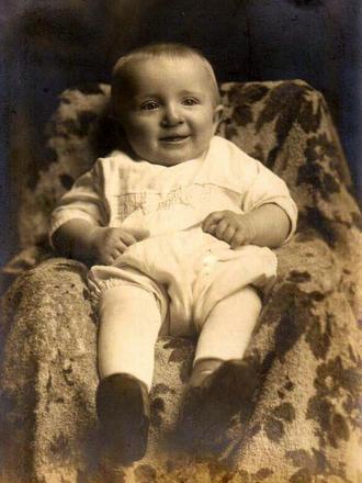 Louis's baby photo