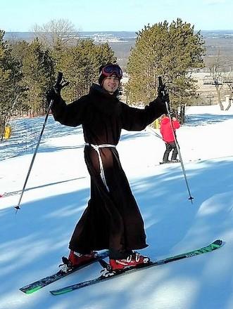 friar skiing