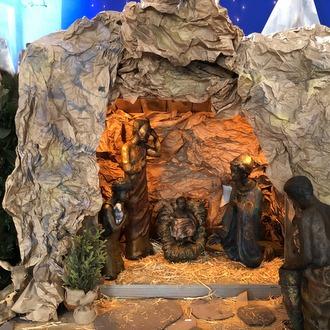 Nativity cave