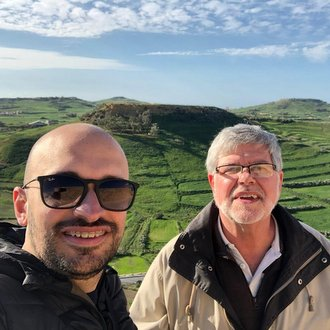 Friars Ramon and Jeff