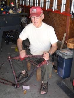 Br. Juniper in garage