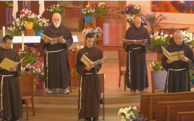 Br. John Boissy renews vows