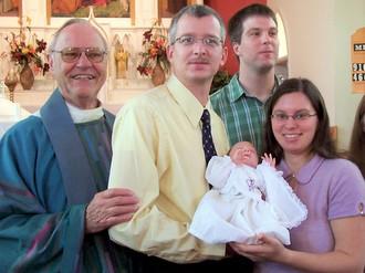 Fr. Humbert at baptism