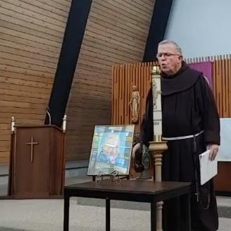 friar at funeral