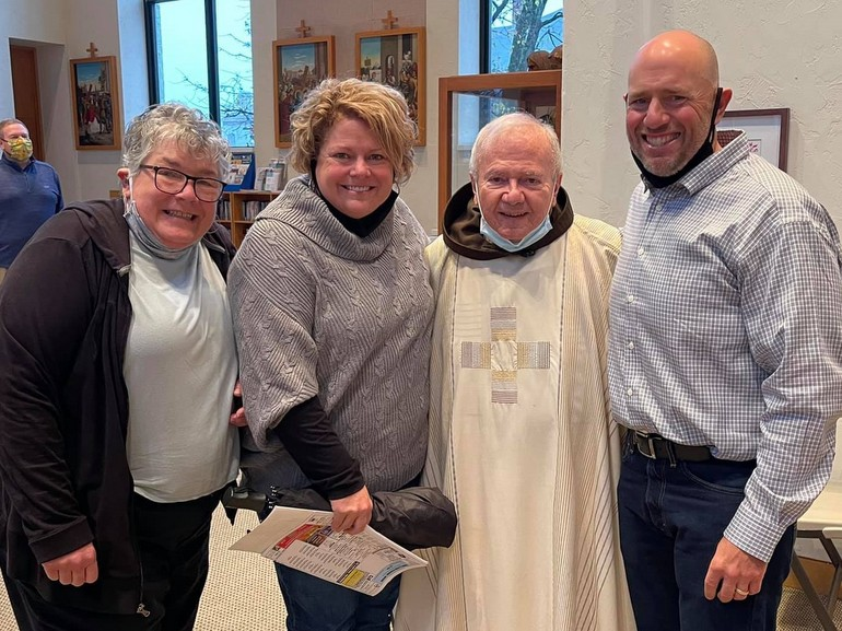 friar with relatives