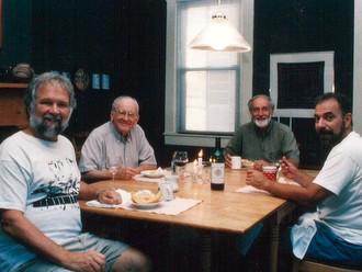 friars around table