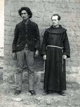 friar & Navajo man