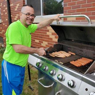 friar at grill