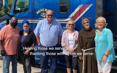 A food pantry for a community in need