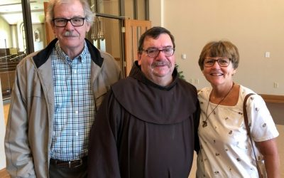 Rejoicing in a son of the parish