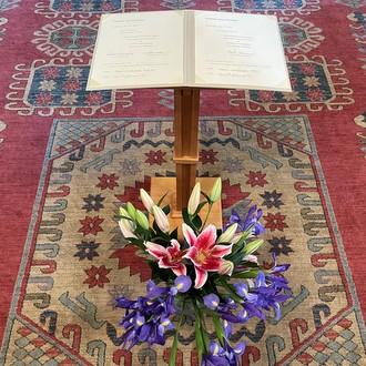 flowers on carpet