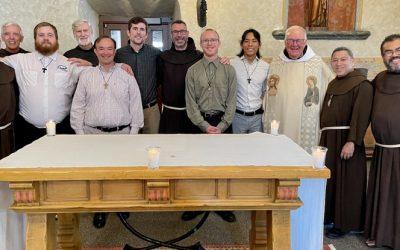 Reception of novices