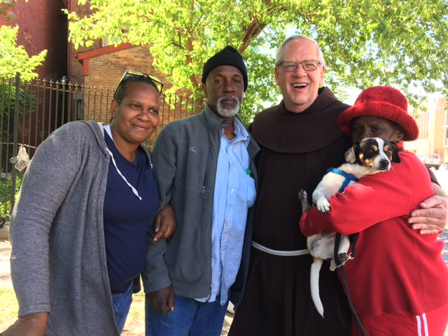 friar and friends