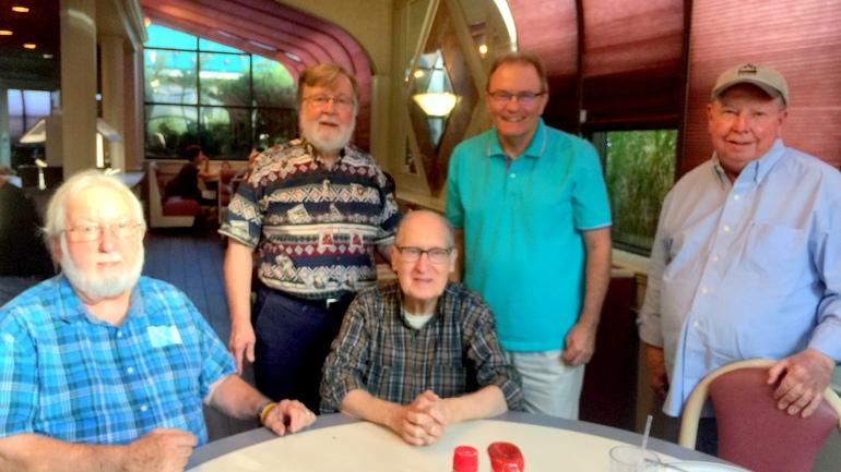 friars at table