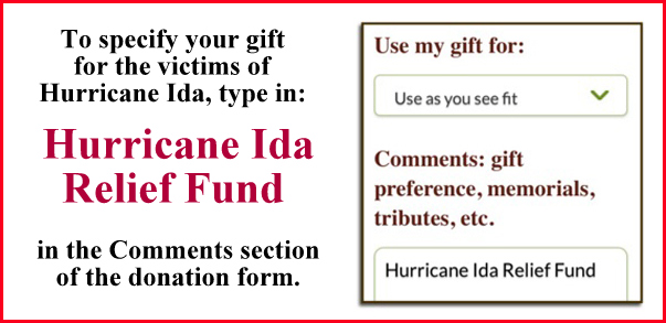 donation directions
