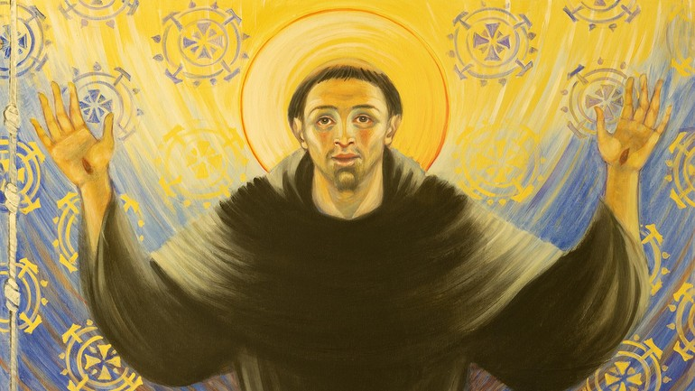 painting of St. Francis